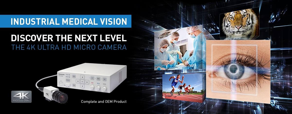 panasonic, professional camera, medical camera, IMV